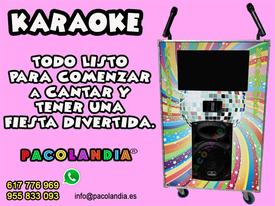 Alquiler Karaoke en Sevilla
