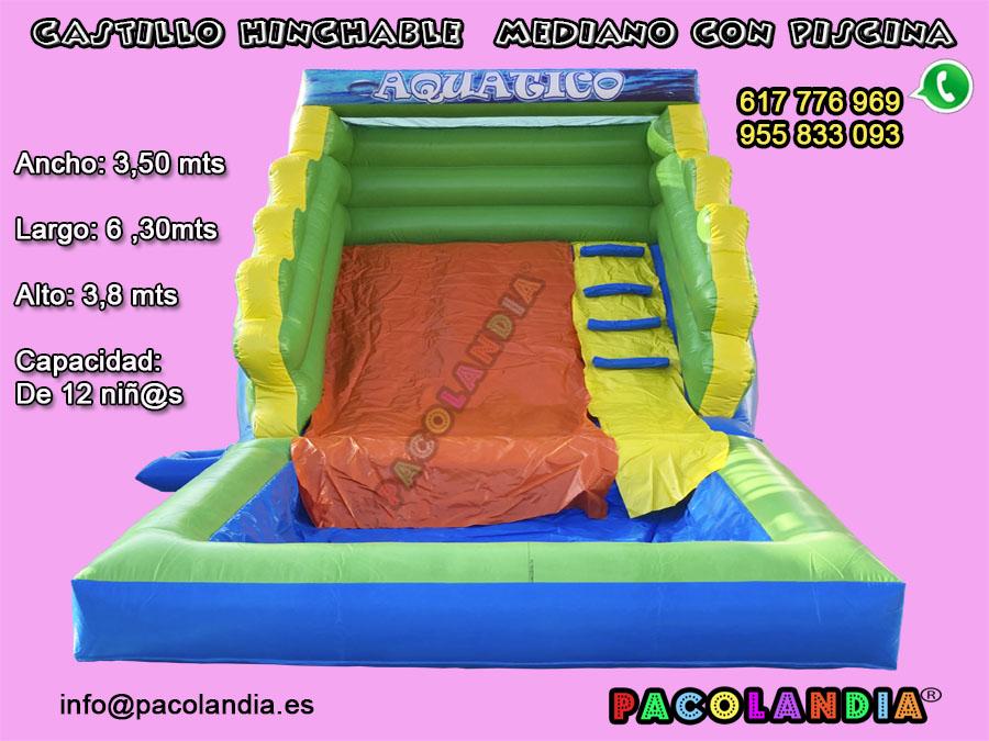 22-Castillo Hinchable con Piscina.