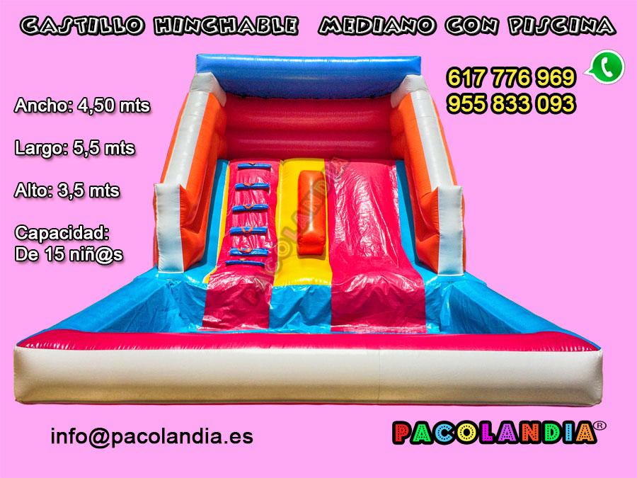 29-Castillo Hinchable con Piscina.