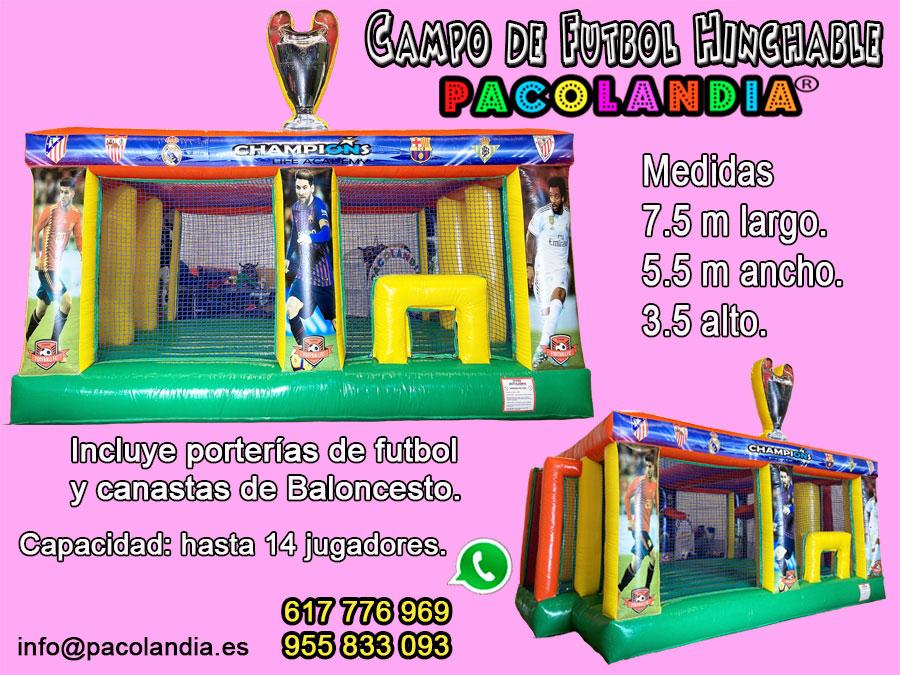 25-Campo de Fútbol Hinchable.