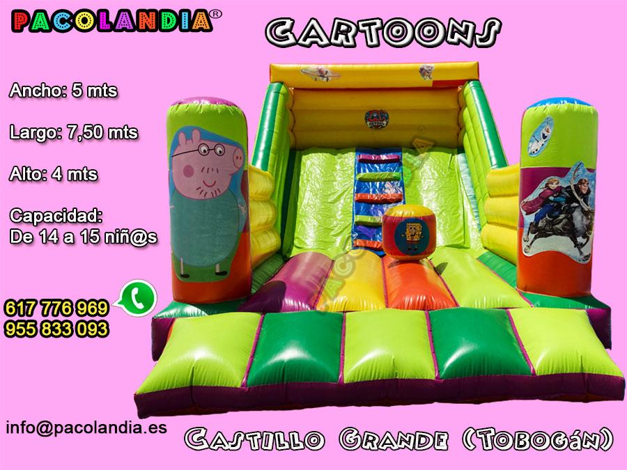 12-CARTOONS-Castillo Grande (Tobogán)