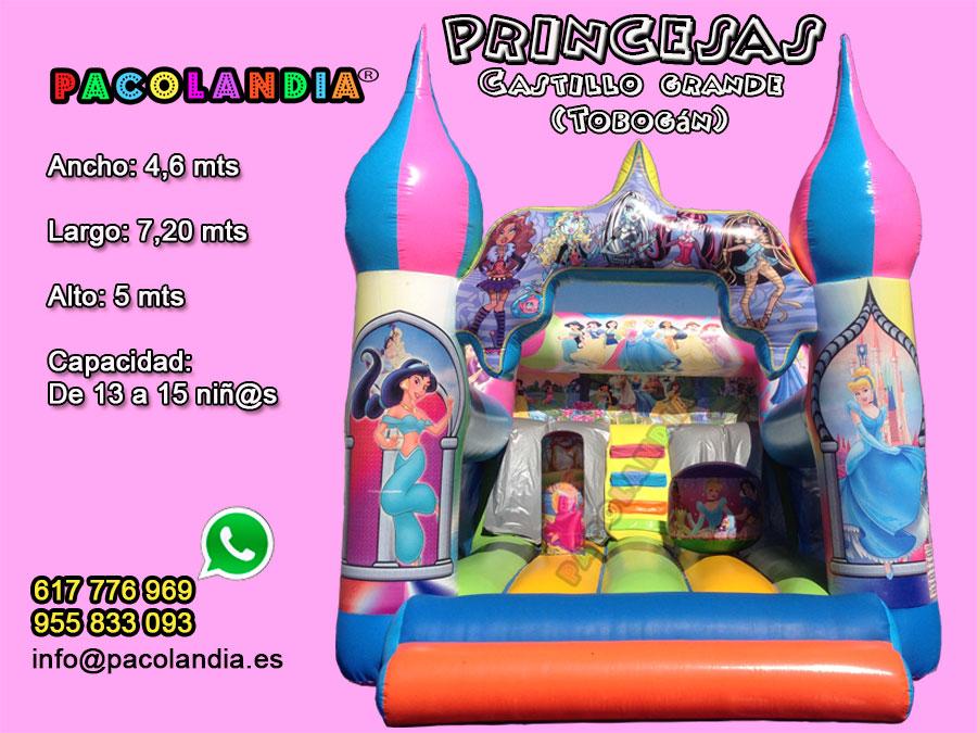 11-Princesas-Castillo Grande (Tobogán)