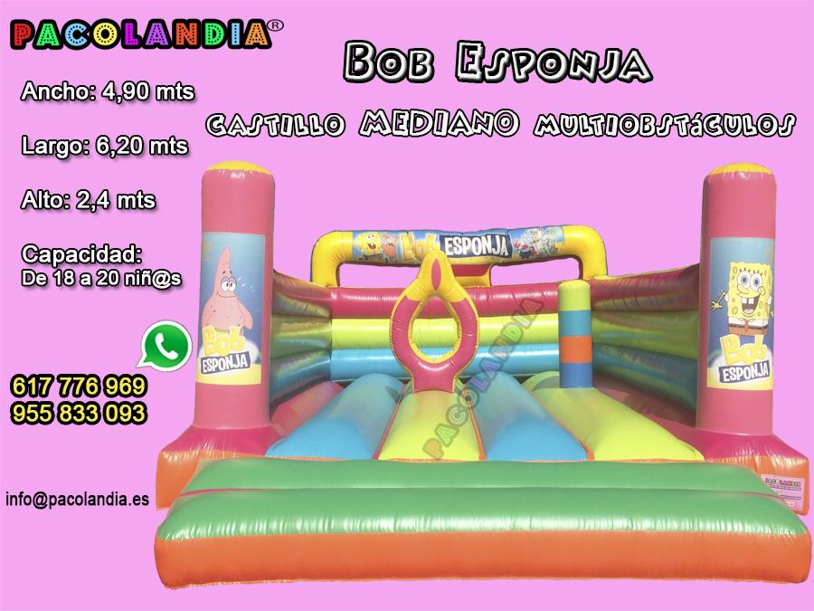 4-Bob Esponja-Multiobstáculo Mediano.
