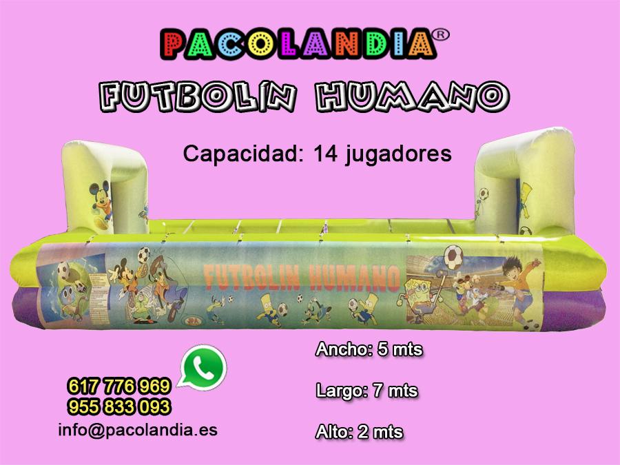 21-Futbolin Humano-14 jugadores
