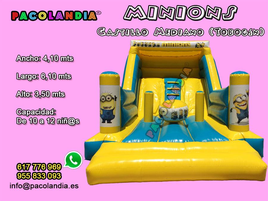 8-Minions-Castillo Mediano (Tobogán)